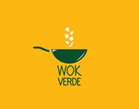 Logotipo e Cartão de Visita para Wok Verde