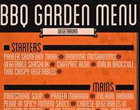 BBQ Garden Menu