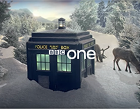 BBC ONE CHRISTMAS IDENTS