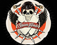 Logo for the brand Scissor Hands