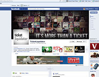 Icons/Facebook/Twitter Pages