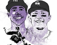 Colorado Rockies Illustration