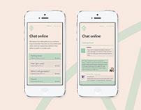 Mom Minder - mobile application