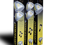 Dunlop Z3 Golf Club Packaging