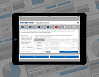 Mobil1 - B2B iPad App - UI Design - LIVE WORK
