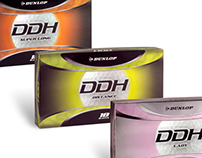 Dunlop DDH Golf Ball Packaging