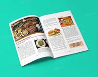 Diagramação de revista - Culinária (nov/2019)