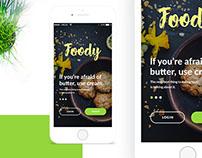 Foody - Restaurant app ui