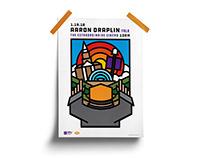 Aaron Draplin Event Poster