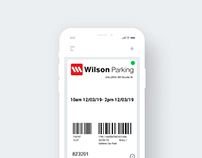 App concept design for the Apple Wallet
