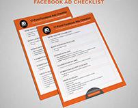 Facebook Ad Checklist.
