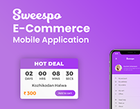 Sweespo- Sweets E-commerce Website and Mobile App