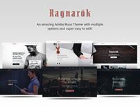 Ragnarok - Multipurpose Adobe Muse Theme