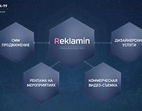 Reclamin Homepage