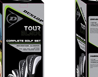 Dunlop Golf tour Black Package Set