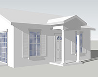 SketchUp 3D Steel SIP Home