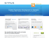 SIRRUS Website – Designed at RFX Brand + Communications