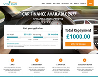 Wise car finance