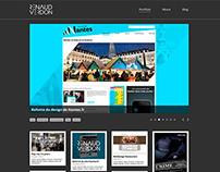 Mon portfolio HTML CSS et JQuery