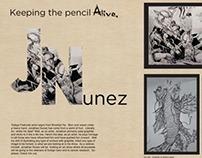 Juxtapoz Magazine spread
