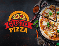 Gusto Pizza web design