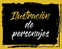 Ilustración Cerveza artesanal CALAVERA.