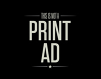 This Is Not A Print Ad