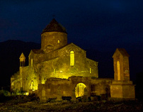 Night Armenian Monuments