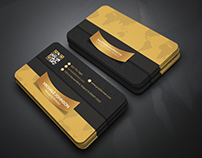 Free Gold Business Card