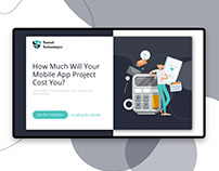 Cost Calculator- Web & Mobile Design