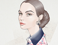 Chanel Haute Couture SS 2016; illustration