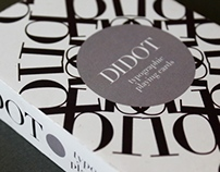 Didot Playing Cards