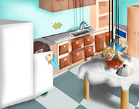 Concept art - Corto de animación 2D