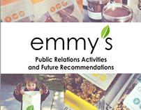 School Work: Emmy's Organics PR Plan
