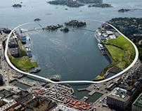 Helsinki South Harbor Masterplan. Helsinki, Finland