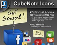 CubeNote Icons