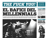The Fuck You! Periodico / The Fuck You Daily