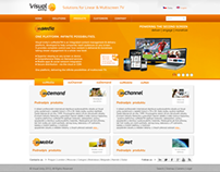 Visual unity web page