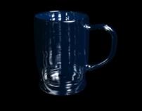 Wizualizacja 3D - Kufel