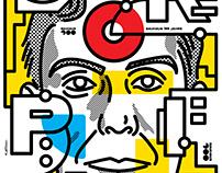 Poster BAUHAUS 100 Walter Gropius