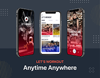 Let's Workout App: UI UX Design