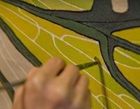 CURTAINS                     textile design in interior