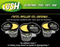 Lush France newsletter