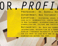 Professor Profile