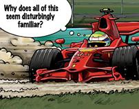 F1 Cartoons