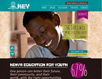 Kenya Education for Youth (KEY) Website