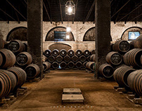 Interior Photography: Alvear's cellar