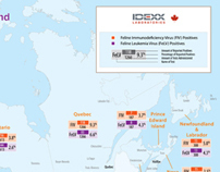 IDEXX Prevalence Maps