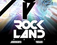 ROCK LAND poster