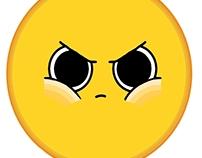 Puffed Cheeks Emoji